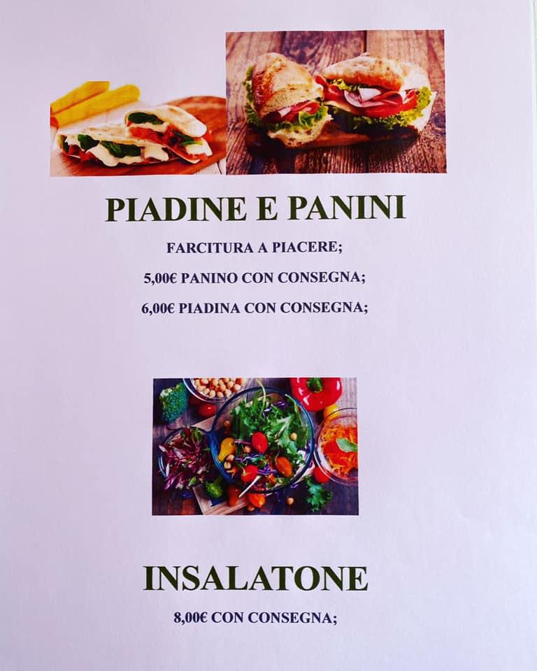 Piadine panini ed insalatone