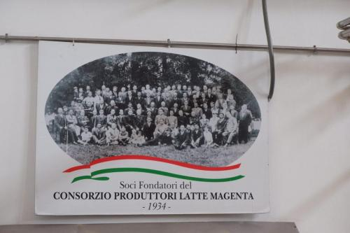 Soci fondatori del Consorzio Produttori Latte dal 1934