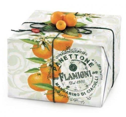 Panettone al mandarino