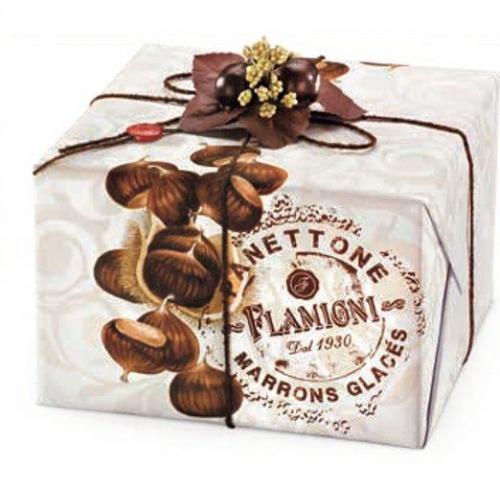 Panettone con marrons glaces